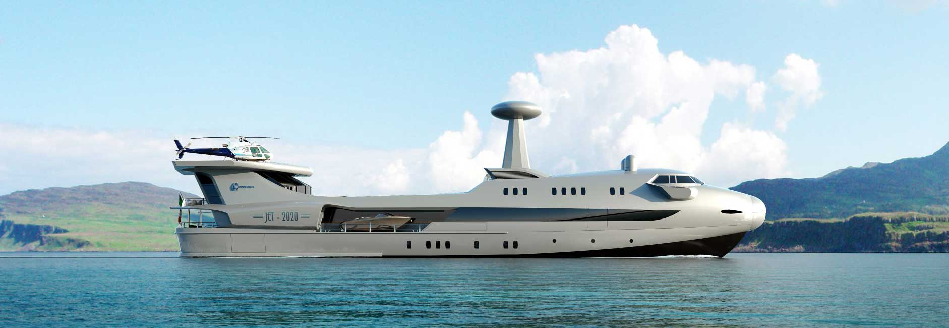 New yacht design by Codecasa